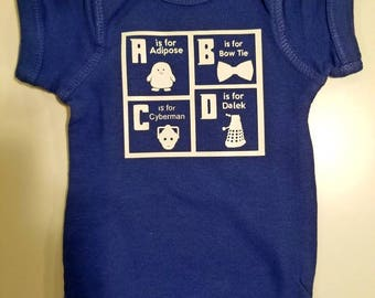 Doctor Who ABCs