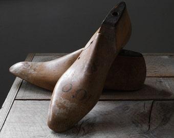 Antique Shoe Form, Cobbler's Foot Form, Shoe Lasts, Victorian Era, Home and Living, VintageDecor