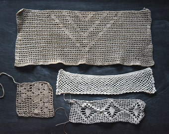 Antique Crochet Lace, Antique Textiles, Crochet Lace, Vintage Crochet Lace, Crochet Lace Trims, Sewing Supplies, Vintage Sewing Supplies,