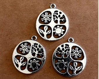 3 Four Seasons charms - SC239 #MG