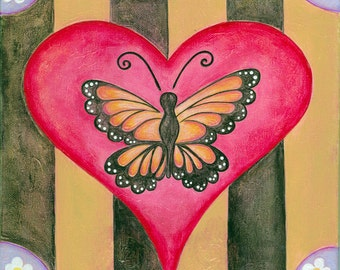 Home Butterfly Print