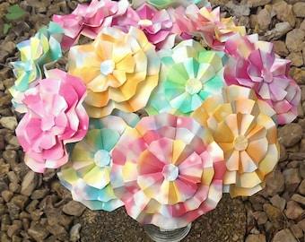 Origami flowers etsy origami flowers mightylinksfo