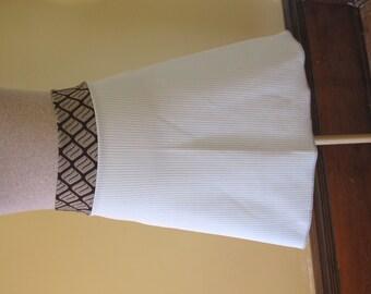 SALE Frances A-line Skirt - Vintage Knit Style - Size Large