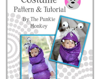 Boo Monster Costume *Pattern u0026 Tutorial* - Monsteru0027s Inc. - Toddler Sizes 12 months to 4T *Instant Download*  sc 1 st  Etsy & Sulley costume | Etsy