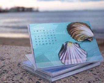 2018 Art by Alyssa Coastal Desktop Calendar
