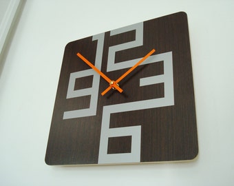 10in Cornell Modern Wall Clock 20% OFF