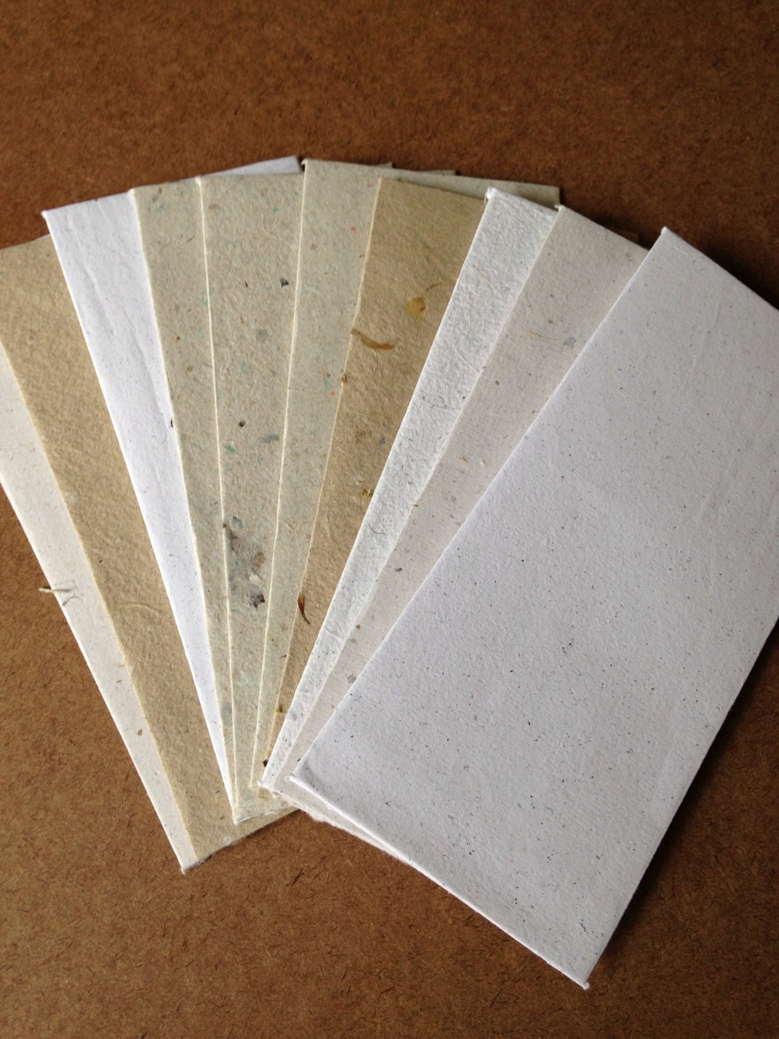 10 envelopes 9.25x4 inch business sized envelopes, letter envelopes, homemade paper, handmade envelopes, eco friendly paper recycled paper