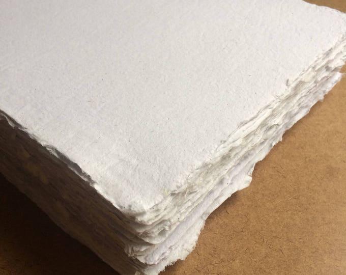 Featured listing image: Watercolor paper, vegan, wet media paper, watercolour paper, mixed media paper, calligraphy paper, intaglio paper, art paper