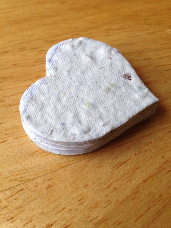 58896f25a34 10 plantable hearts paper hearts plantable confetti