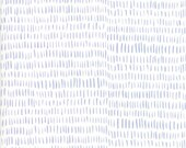 Twilight Fabric // Light Blue on White Grass Quilting Fabric  // 1canoe2 // cotton quilting
