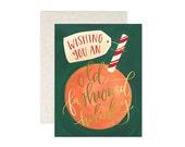 Holiday Orange // Boxed Set of 8 // 1canoe2