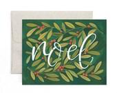 Noel Holly // Illustrated Card // 1canoe2