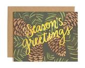 Season's Greetings Illustrated Card//1canoe2