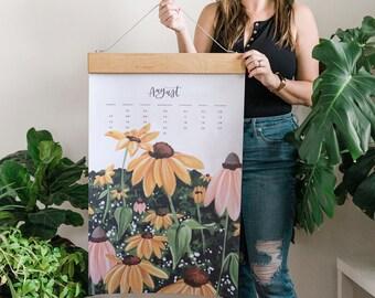 2022 XL Wall Calendar: Natural World *Refill* // 1canoe2 //Hand illustrated