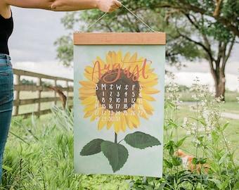 2022 XL Wall Calendar: Hygee *Refill* // 1canoe2 //Hand illustrated