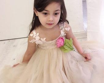 4955fd0b4 Orchid First Communion Dress Flower Girl Holy Off White