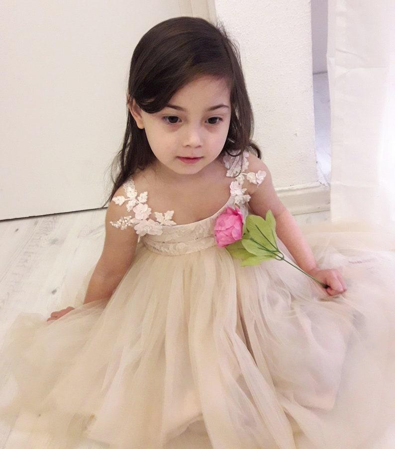 Beaded Flower Girl Dresses