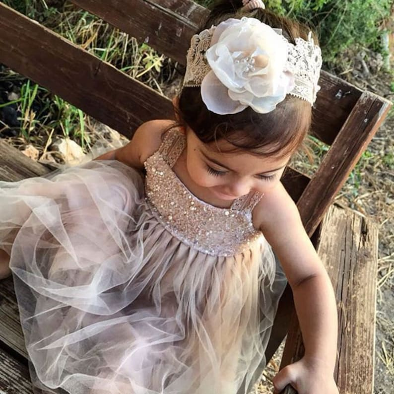 NEW WHITE COMMUNION BABY BAPTISM PICK UP FLOWER GIRL DRESS 6M 18M 2 4 6 8 10 12