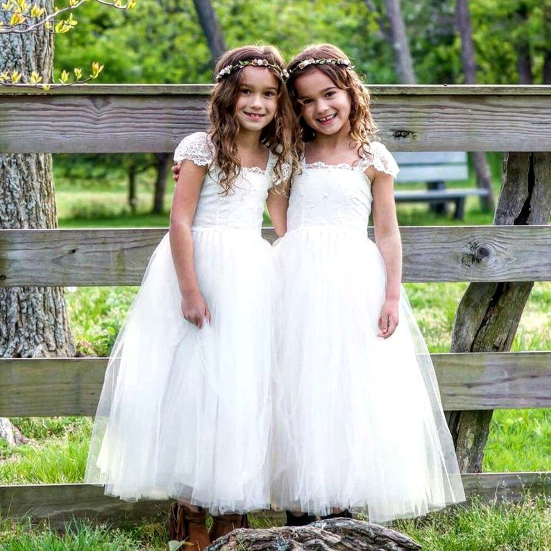 9451139ee Orchid Ivory Flower Girl Dress, First Communion, Gown, Veil (listed  separately) 1st Birthday Outfit, Tutu, Tulle, Lace Dresses, Holly