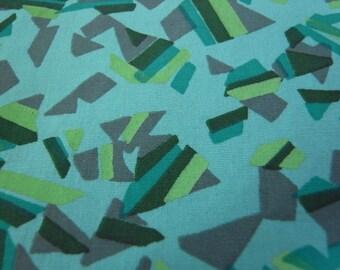 Half Yard - GEOMINTRIC - Hand Printed cotton fabric
