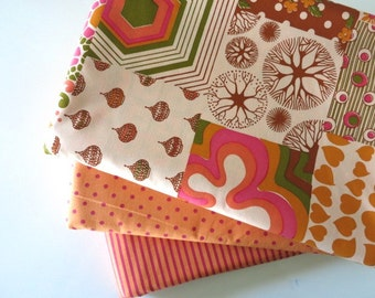 Perfect Patchwork - Hand Screen Printed Fabric - Fat Quarter Bundle