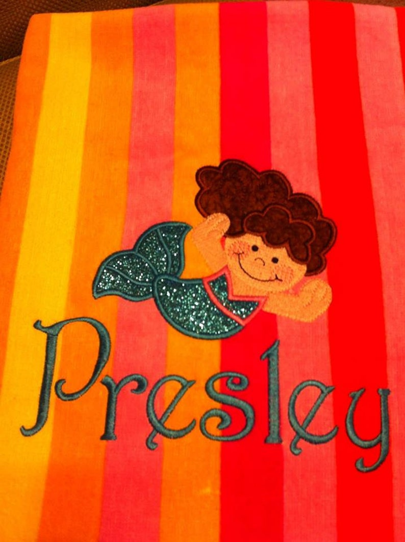 Personalized Beach Towel image 0