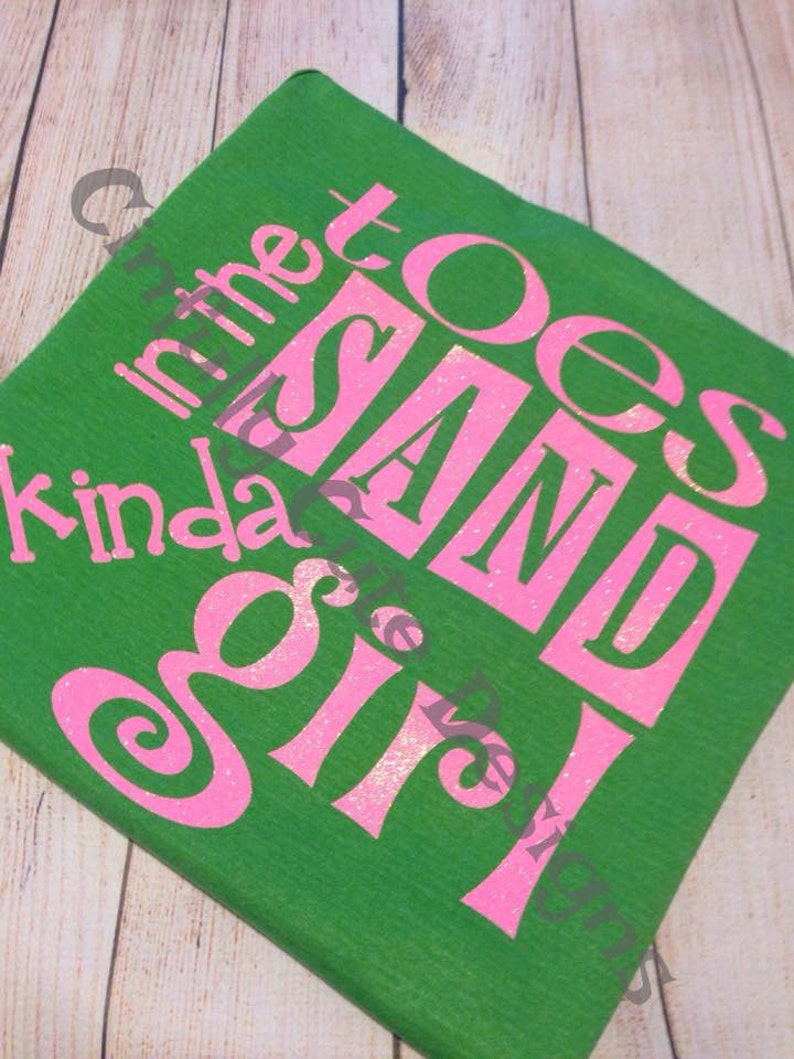 Toes In The Sand Kinda Girl Beach Coverup Tank Top image 0