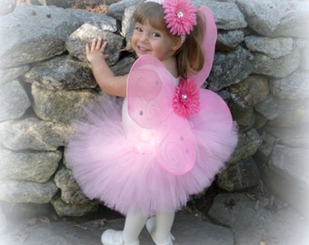 Butterfly Fairy TUTU Costume Wing Princess Outfit Matching Daisy Headband Photo Prop Pink Ballerina Tinkerbell Woodland Cake Smash Birthday ...  sc 1 st  Etsy & Toddler Halloween Costume Ideas curated by Hint Mama on Etsy