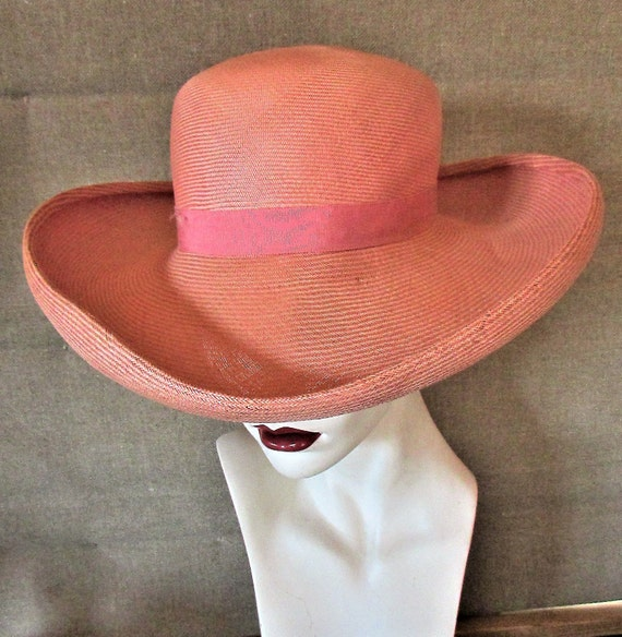 Vintage 1970's 1980's Hat Adolfo II New York Pari… - image 1