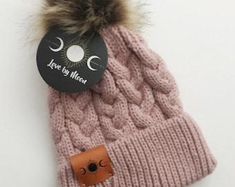 fb6391d3870 Baby Knit Pom Beanie