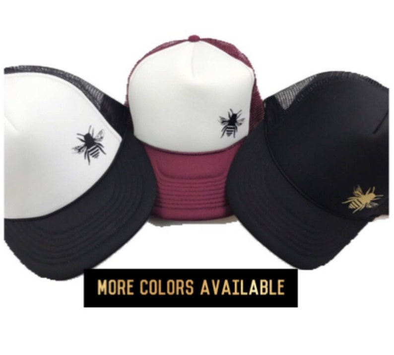 Women s Bee Hat Bee Trucker Hat Save The Bees  53f7e933128