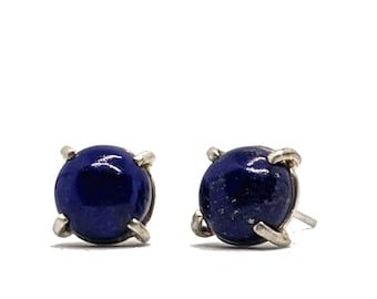 Lapis Lazuli Post Earrings