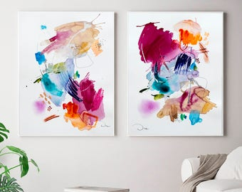 Fine Art America Abstract Lovers Watercolor