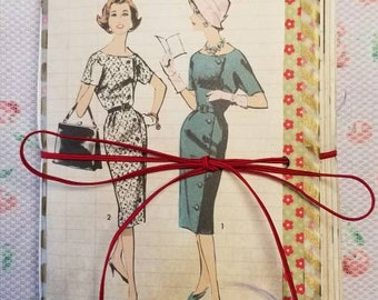 The Modern Homemaker Travelers Notebook genuine 1950s vintage ephemera