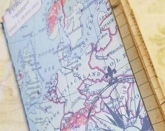 Mini Travelers Notebook Junk Journal Passport Pocket Field Notes Size