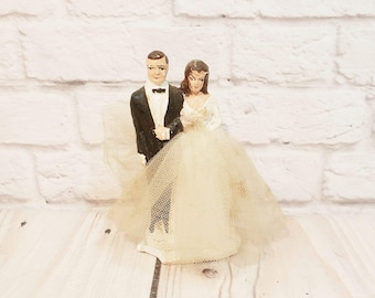 Bride And Groom Cake Topper Etsy
