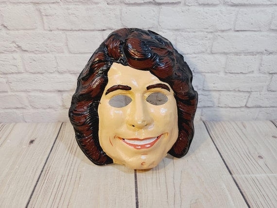 Vintage John Travolta Halloween Mask