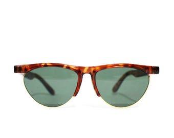 1980s Clubmaster Cateye Sunglasses