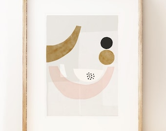 Abstract art print 'Balancing II' Abstract wall art, modern art print, gallery wall art