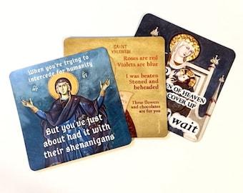 Catholic Meme Magnet Set 2 - Catholic car magnet - Prayer Magnet Set