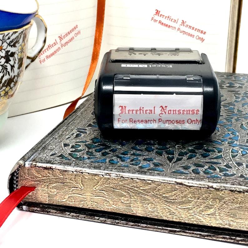 Heretical Nonsense Stamp Garbage Catholic Gag Gift