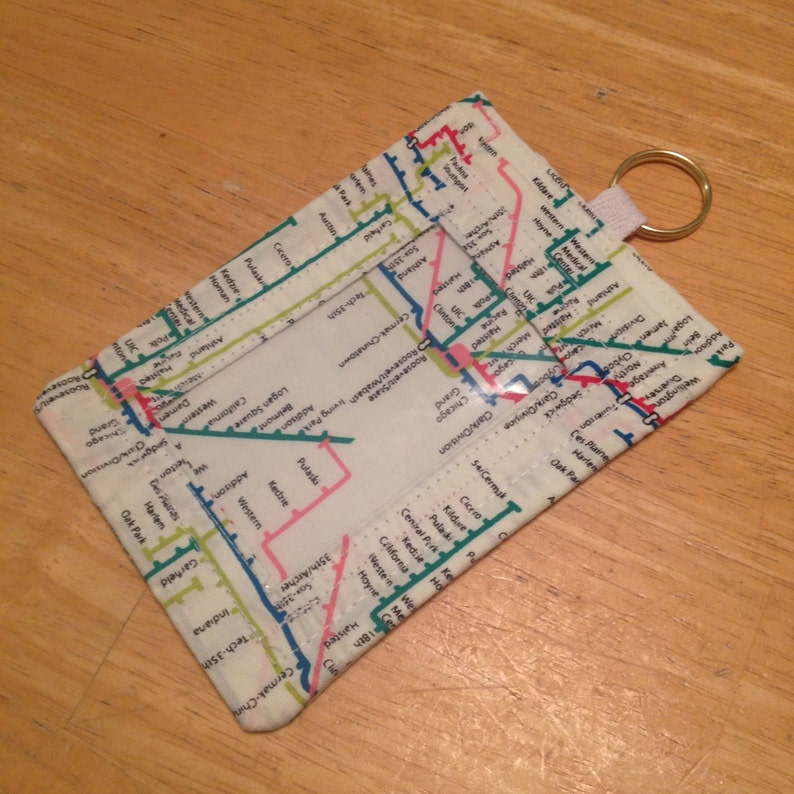 Nyc Subway Map Key.Id Badge Holder Nyc Subway Map