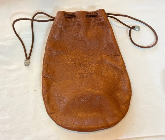 Colonel Littleton leather pouch