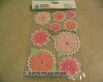 "Jolee/'s Boutique /""Flower Bouquet/"" Wedding Dimensional Stickers"