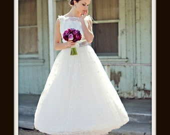 1950s Wedding Dress 'APRIL'