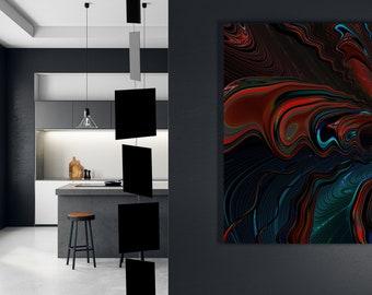 MODcast Black Art Mobiles | Mid Century Modern Kinetic Hanging Mobile | Retro Home Interior Decoration | Retro Room DIvider | Gift Ideas