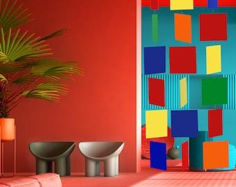 Modernist MODcast Mid Century Modern Art Mobiles | Dramatic Kinetic Home Decor | MODular design | Unique Gift Idea | Room Dividers