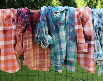 Editor by Day Rockstar by Night/ Unisex Plaid Flannel Shirt