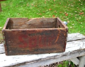 Vintage Spur ginger ale Advertising Prop Wooden Metal Crate