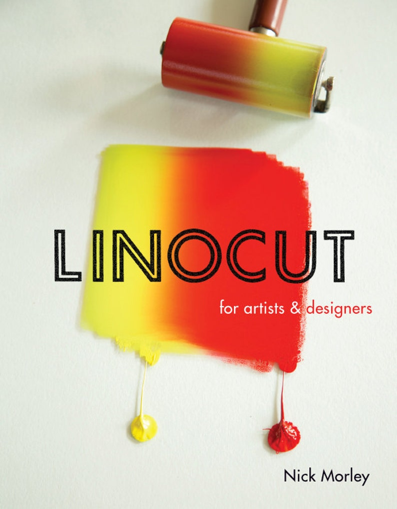 Linocut for Artists and Designers  signed book image 0